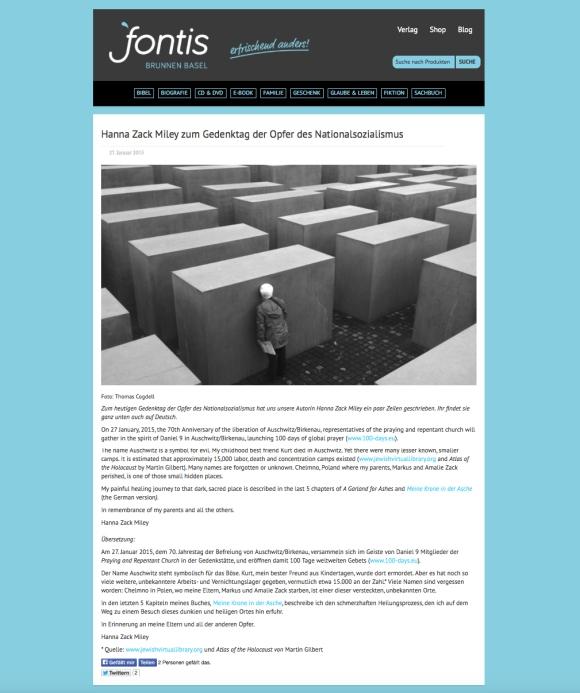 berlin memorial fontis